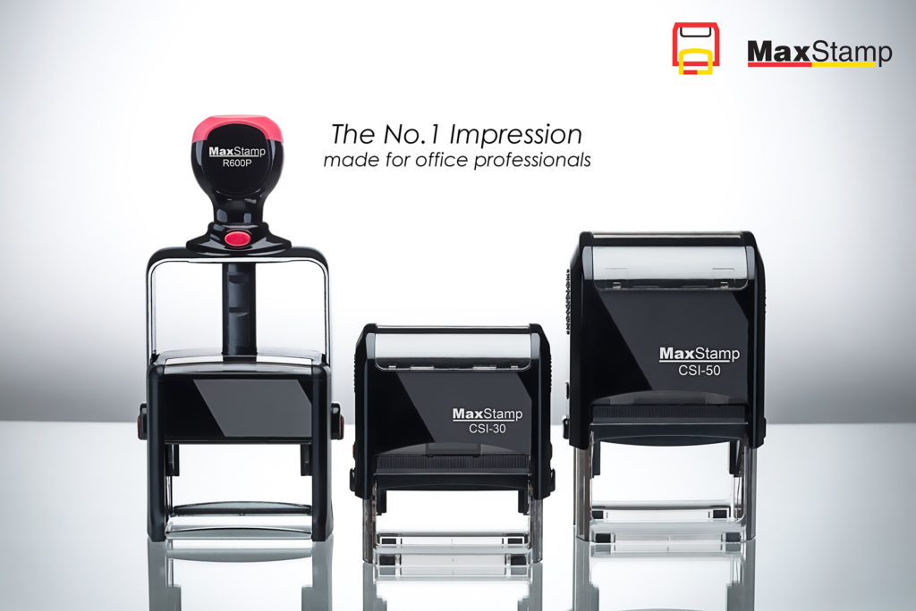 The No.1 impression made for office professionals by MaxStamp.
