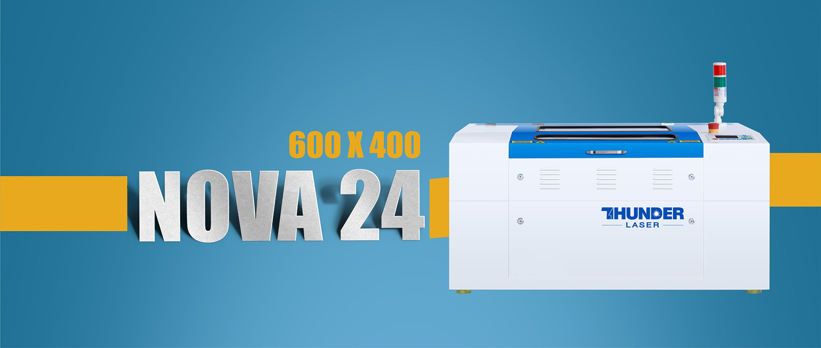 Nova24 desktop laser engraving machine