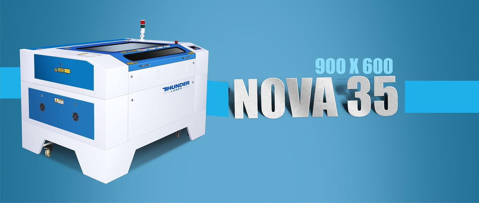 Nova35 laser engraving machine