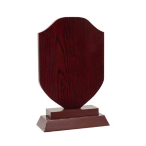 wooden plaque for award and achievments