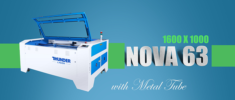 Nova63 laser engraving machines fitted with a RF tube