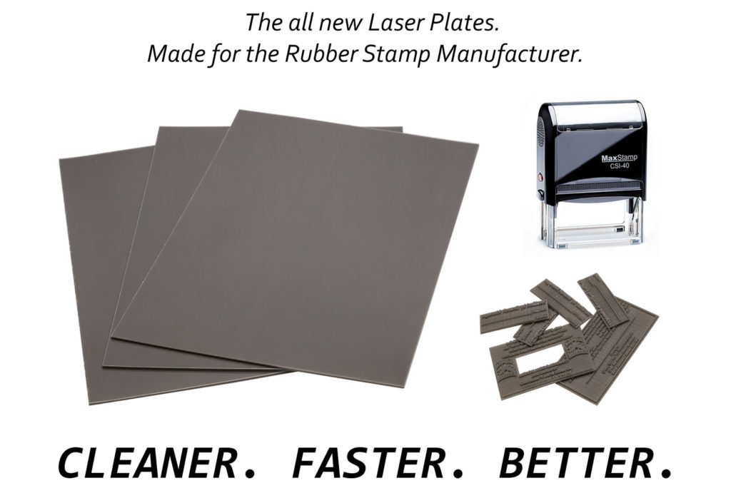 laser rubber sheets for rubber stamps
