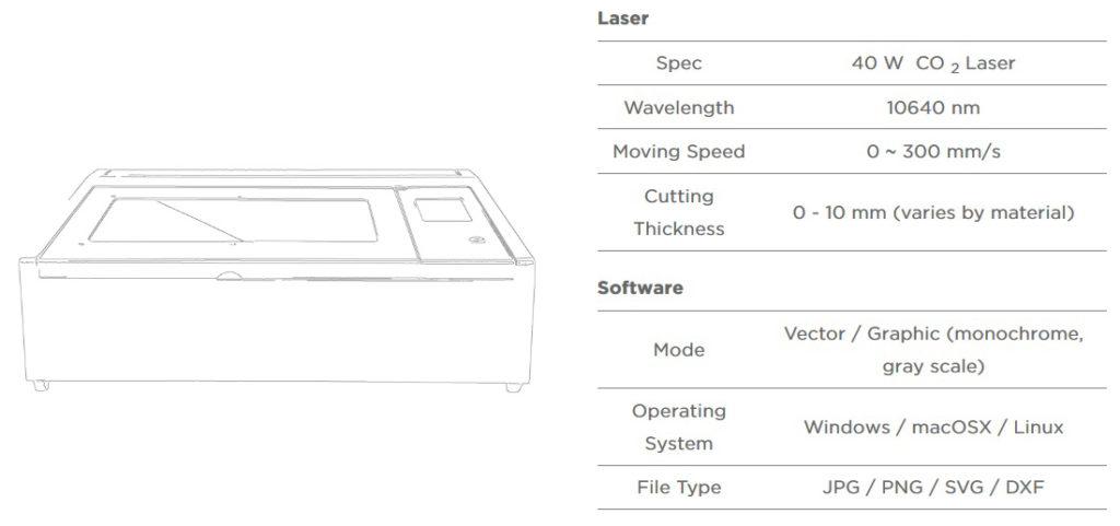 beambox hobby laser machine