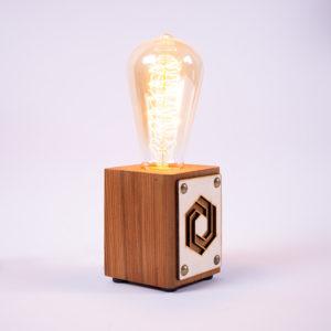laser engraved light bulb